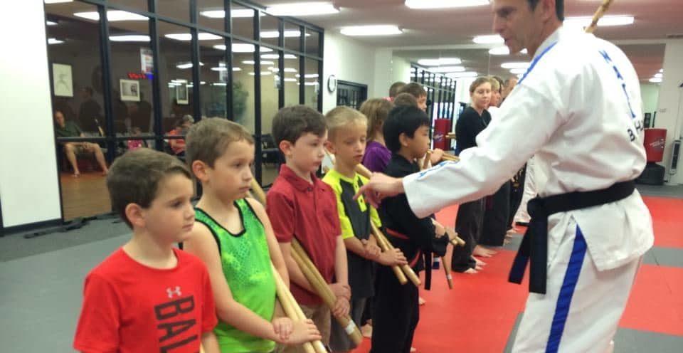 Kids Weapon Training