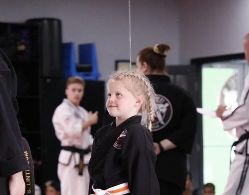 Jenks Martial Arts Academy Taekwon-Do ages 4-6