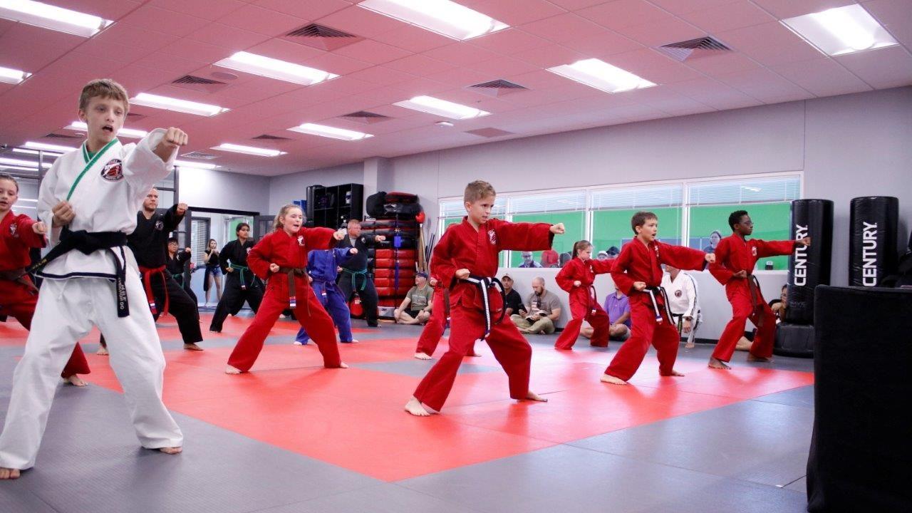 Jenks Martial Arts Academy Taekwon-Do ages 7-12