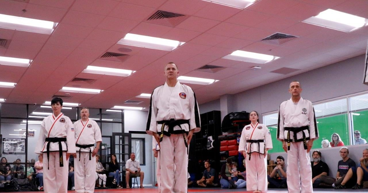 Jenks Martial Arts Academy Taekwon-Do Teens/Adults